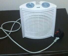 Heater EWT Clima743 TS. Can also be used as a fan. Has overheat shutdown, collect only LE1. £10