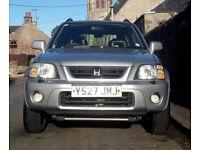 Silver Honda CR-V 2.0i ES Executive 5dr 2001 - Petrol