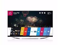 "** LG 55"" LCD 3D 1080p Smart TV w/Web OS +Freeview +Wifi +3D Glasses -- Model #55LB730V **"