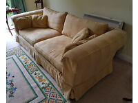 Large Yellow Gold Derwent Sofa (Parker Knoll)