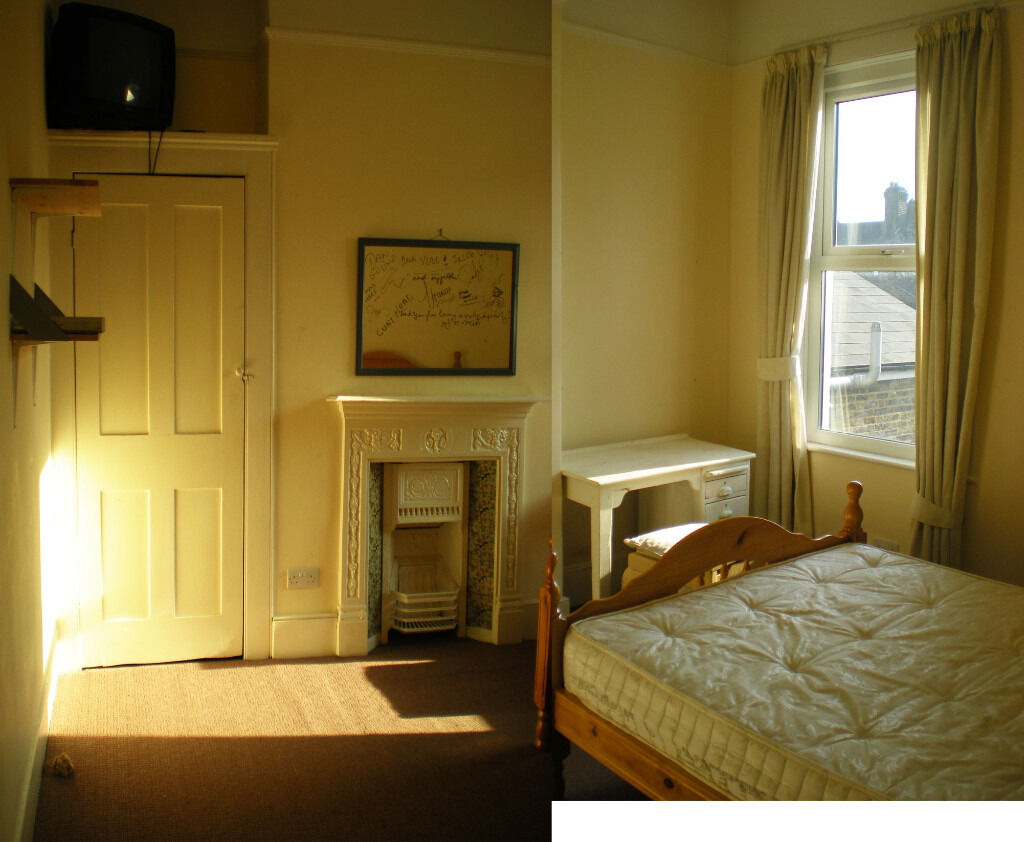 Sunny Specious Double Room in 4 Bedroom Victorian House in Clapton