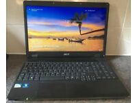 Acer Extensa 5235 15.6 inch (320 GB, Intel 2.2 GHz, 3 GB) Windows 10 Office Laptop Notebook