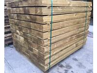 Wooden Tanalised Feather Edge Fencing Pieces/Panels ~ High Quality ~ Various Sizes🌳