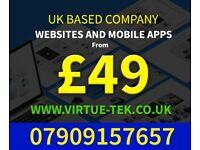 Website Design and Mobile App Development | North W London | E Commerce Web Development | UK Based