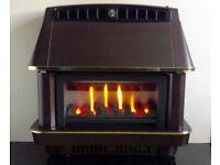 Robinson Willey Firecharm LFE Electronic 4.4 KW Gas Fire (Bronze)