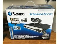 Swann cctv set with original box
