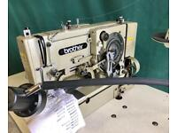Brother LH-814 button hole sewing machine straight lock stitch
