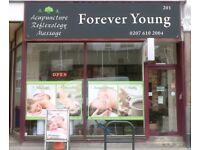 Forever Young Chinese Massage Centre, West Kensington
