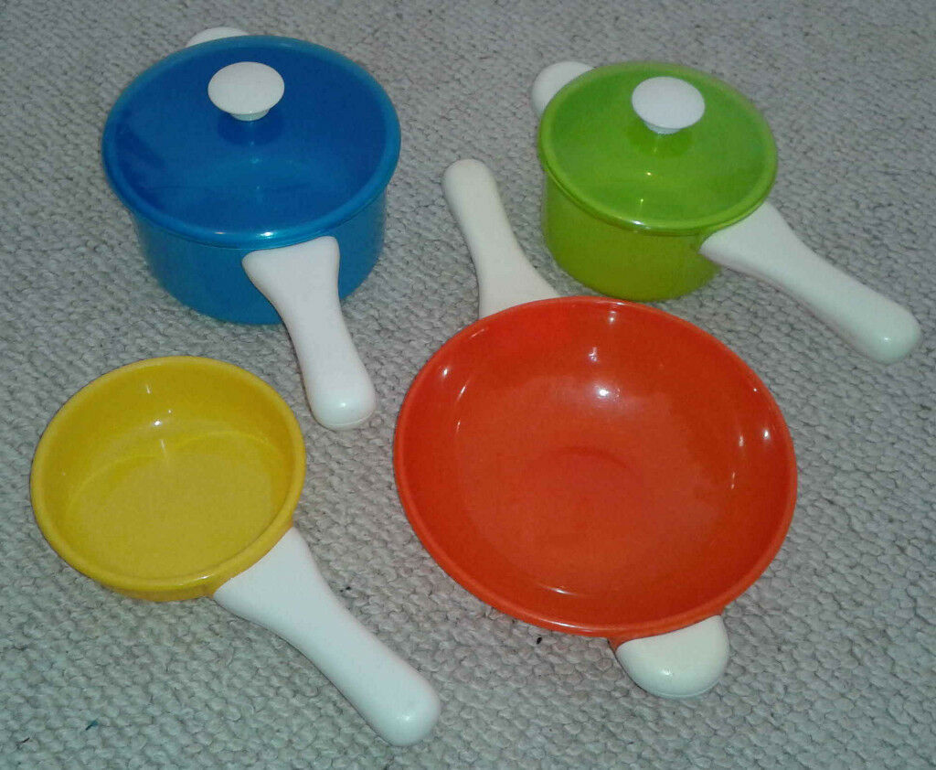 Extra Play Kitchen Pots And Pans From Elc Early Learning Centre In