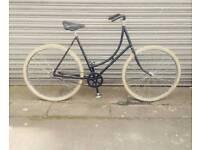 Vintage ladies Raleigh bike