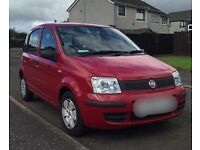 Fiat Panda, 1.1 litre Petrol, Active ECO, 2009, 5 Door - Hatchback, 17,000 miles, Solid Red