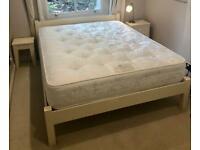 Cream solid wood bedroom furniture set - Warren Evans