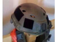 Airsoft fast helmet olive