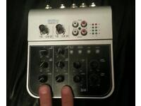 Mini 6 channel AUDIO Mixer. Non USB