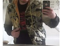 Fashionable and Accessorised Christian Audigier Hoodie for sale!!! (Male's Medium)