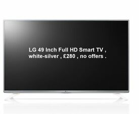 LG Smart TV 49 Inch Full HD with Freeview