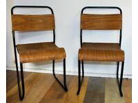 60 available ply stacking vintage chairs antique industrial restaurant retro seating school metal