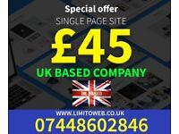 Website Design and Mobile App Development | S.East London | E Commerce Web Development | UK Based