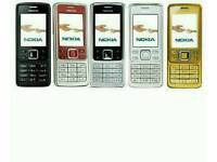 Open To All Networks Brand New Nokia 105-108-1112-6300-E1200Y-Zanco Unlocked Mostly All Colours