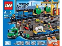 LEGO City 60052 Cargo Train Full Box Set (Used) - Collect Only