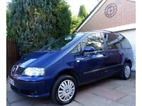 2006 SEAT ALHAMBRA 1.9 TDI**ONE OWNER HISTORY**