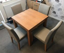 NEXT Cambridge Dining Table & 4 Chairs