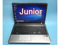 QuadCore 8GB, 750GB VFast HD Samsung Laptop, HDMI, Win 10 Boxed, office, Excellent Cond