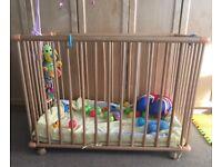 Baby/Toddler Playpen £18