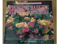 A Creative Step-by-Step Guide to Hanging Baskets & Wall Containers Hardback Book