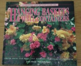 Hanging Baskets & Wall Containers Hardback Book