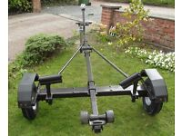 Trailer for Boat Dinghy Tender.fitted with New Ball Hitch, Winch Jockey Wheel