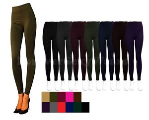 SEXY-WOMEN-LADY-TEEN-WINTER-FOOTLESS-FLEECE-LINED-TIGHTS-LEG-PANTYHOSE-STRETCH
