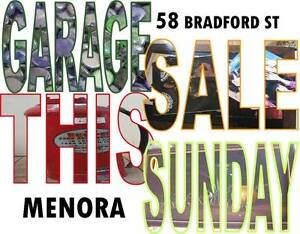GARAGE SALE MENORA This Sunday 8am-1pm Menora Stirling Area Preview