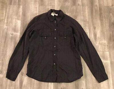 Max Mara 100% Linen Weekend Line Button Up Shirt Size 42(Medium) Made In (Max Mara Mens)