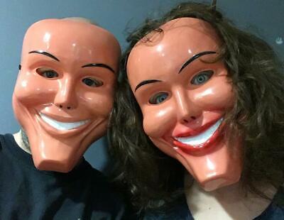The Purge Maske Grin Halloween Film Horror Kostüm Lächelnd Männlich Weiblich