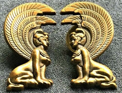 NEVERENDING STORY pins SOUTHERN ORACLE SPHINX egyptian set Falkor auryn falcor