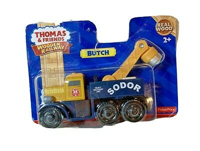 Thomas & Friends wooden railway Butch Heavy Recovery unit Y4385 Fisher-Price new