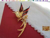 Splendida Spilla Firmata Sphinx Tono Oro Giallo Cristalli E Smalti Perfetta - splendid - ebay.it