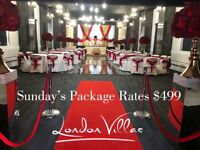 Sunday Party Packages