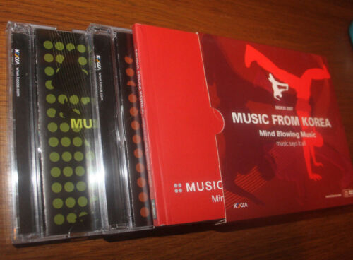 Music From Korea Mind Blowing Music Midem 2007 Set 2 Cd + Dvd + Book