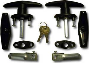 Truck Cap, Topper Complete T-Handle Lock Set | Bauer T311-2