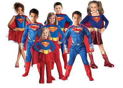 /Âge: 3-4 Ans Costume Classique de Supergirl Warner Bros pour Enfant