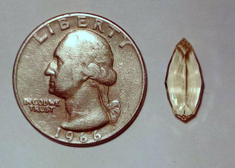 Natural Golden Beryl, Fancy Cut, 3.48 ct