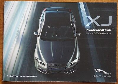 2015 2016 JAGUAR XJ XJ6 XJ8 3.0 Accessories Brochure