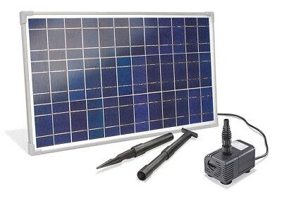 Solar Stream Pump 25W 1600 L/H Solar Pump Waterfall Solar Pond Esotec 101018