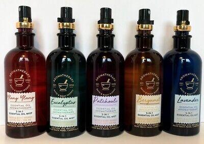 Mist Perfume Oil (Bath & Body Works Aromatherapy 5 in 1 Essential Oil Mist Spray Choose Scent New )