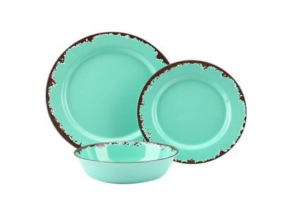 Best Lightweight Dinnerware Set For 4 12 Piece Dishes For Camping 4 Settings (Best Camping Dinnerware Set)