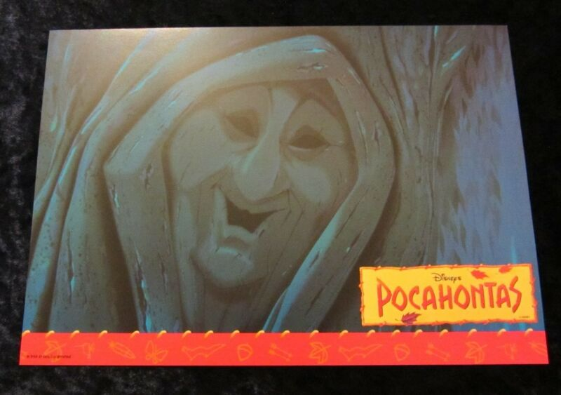 Pocahontas  lobby card  # 13 - Walt Disney