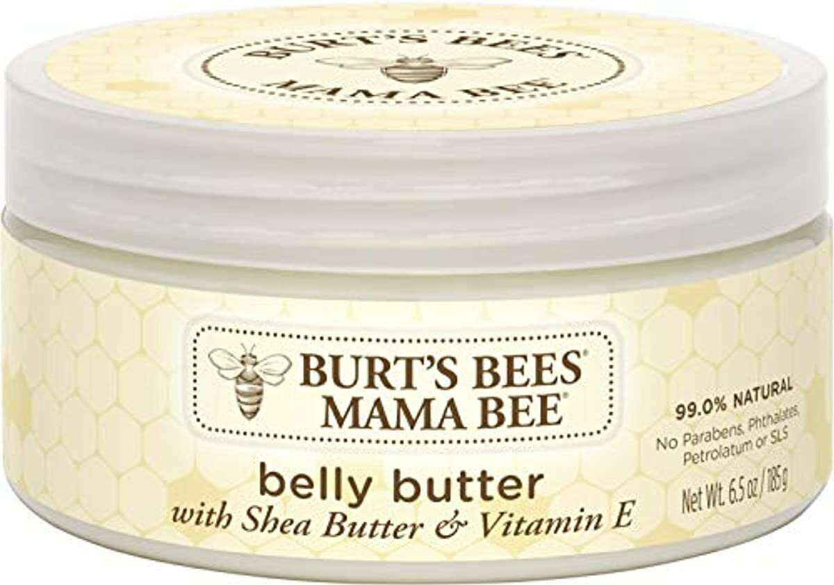 Burt s Bees Mama Bee Belly Butter, Fragrance Free Lotion, 6.5 Ounce Tub - $15.16