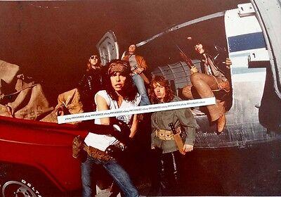 HUGE! 20x16 Vintage 1978 AEROSMITH Poster-Size Unpublished? ORIGINAL PHOTO Proof